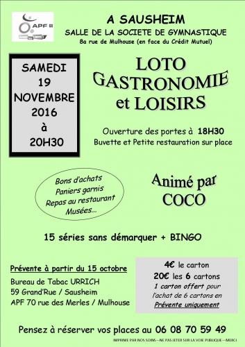 Affiche couleur soirée loto gastronomique 19 novembre 2016.jpg